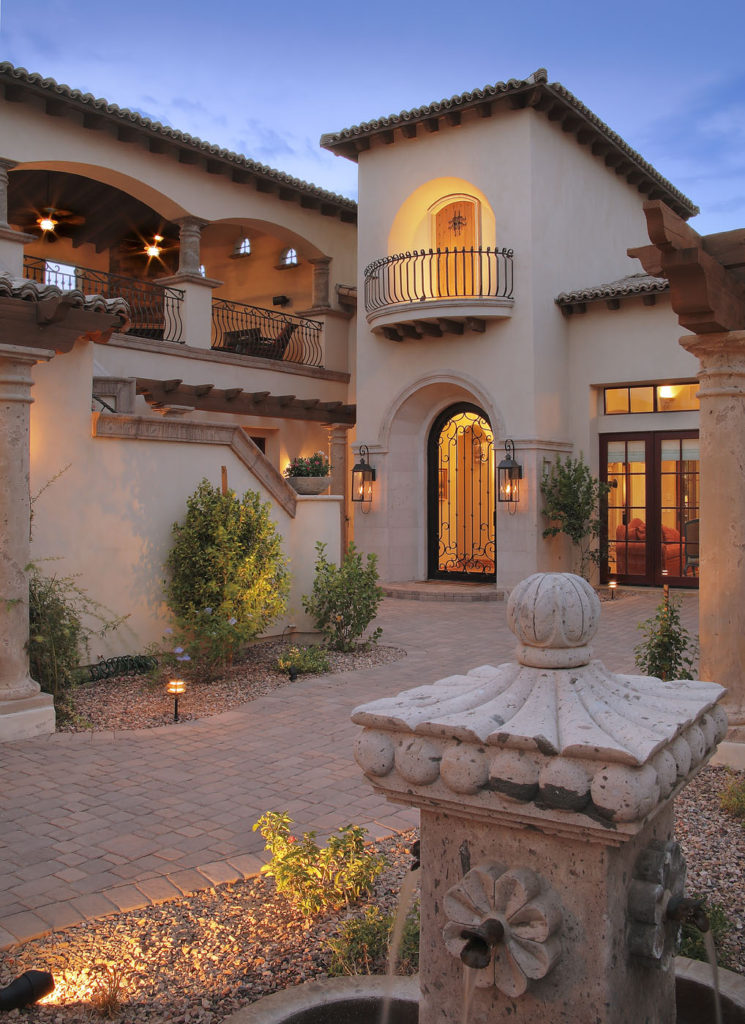 Casa Turquoise Spanish Colonial