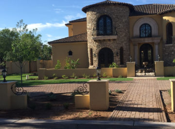 """Tuscan Elegance"" custom home design"
