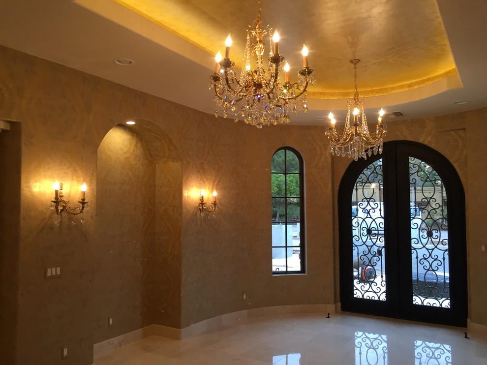 Tuscan Elegance Entry Interior