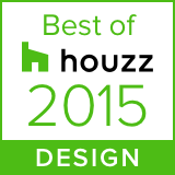 Awarded Best of Houzz 2015 Design
