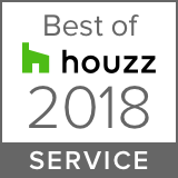 Awarded Best of Houzz 2018 Client Satisfaction