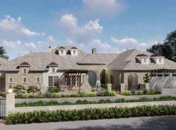 Modern French Colonial Farmhouse