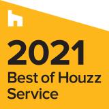 Best of Houzz 2021 Service Award Badge